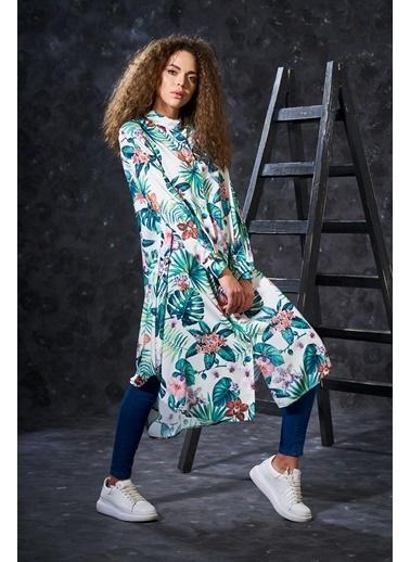 Eda Atalay Floral Tunik Renkli